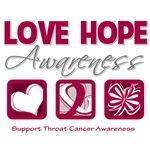 Throat Cancer Love Hope