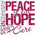 Throat Cancer Peace Love Hope Cure