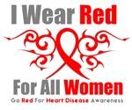 Heart Disease Red For Women
