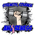 Male Breast Cancer Strength