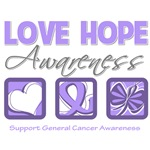 General Cancer Love Hope