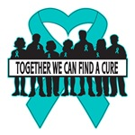 Ovarian Cancer Together We Can Find A Cure Shirts