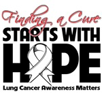 Lung Cancer Finding A Cure Starts With Hope Shirts