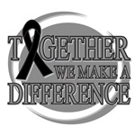 Melanoma Together We Make A Difference Shirts