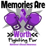 Memories Worth Fighting For Alzheimer's Shirts