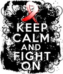 MDS Keep Calm and Fight On Shirts