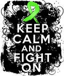 Lymphoma Keep Calm and Fight On Shirts