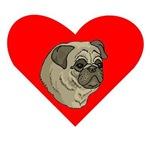 Pug Heart