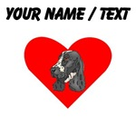 Custom English Springer Spaniel Heart