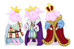 Three Royal Pigs