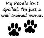Well Trained Poodle Owner