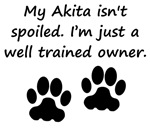 Well Trained Akita Owner