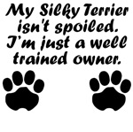 Well Trained Silky Terrier Owner