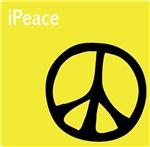 Yellow iPeace Symbol