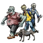 Zombies With Dog