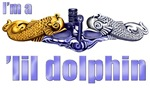 I'm a 'lil Dolphin -- Gold & Silver