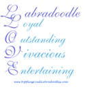 Labradoodle Love - Blue