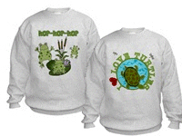 Amphibians and Reptile Kid's Sweatshirts