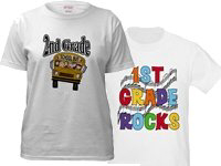 Grade Specific Teacher T-shirts and Gifts