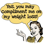 Compliment Weight Loss T-shirts and Gifts