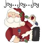 Santa Joy Tshirts and Gifts