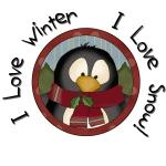 Penguin Winter t-shirts and Gifts