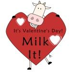 Valentine Cow Tshirts and Gifts
