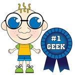 Number One Geek Boy T-shirts and Gifts