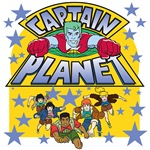 Captain Planet and the Planeteers T-shirts and Gif