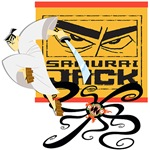 Samurai Jack Fights Aku Tshirts and Gifts