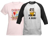 21st Birthday T-shirts, Gifts, Mugs