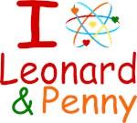I Love Leonard & Penny