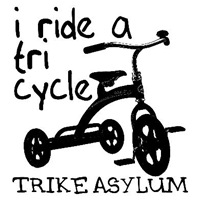 I ride a tricycle