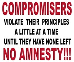 Compromisers violate their principles