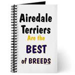 Airedale Terrier Journals