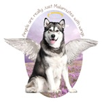 Angels are Malamutes with wings.