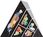 Fallen Food Pyramid