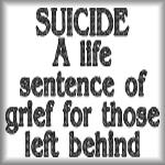 Suicide: A life sentence of grief for those...