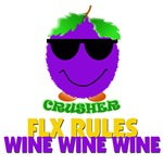Crusher's FLX rules - wine
