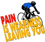 PAIN, is weakness....