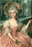 Pink Rococo Lady