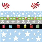 Holiday Stars Gifts-blue
