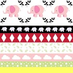 Pink Elephants YaYa Quilt