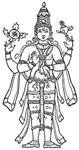 Vishnu - Hindu Diety