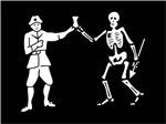 Bartholomew Roberts' Pirate Flag