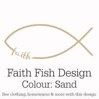 Sand Faith Fish Design
