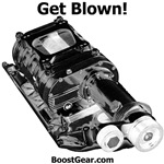 Get Blown! - Supercharger Dog Shirts