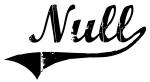 Null (vintage)