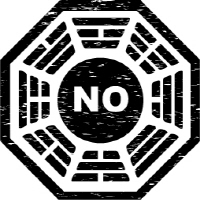 No Initiative Dahrma Initiative Logo