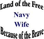Land of the Free Navy Wife